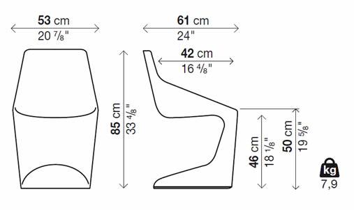 kristalia-pulp-stuhl-freischwinger-abmessungen