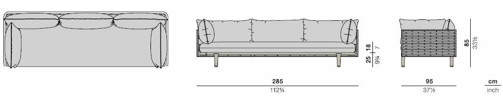 dedon-sealine-3er-sofa-abmessungen