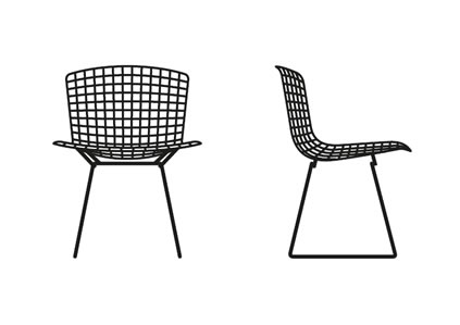 knoll-international-bertoia-stuhl-grafik