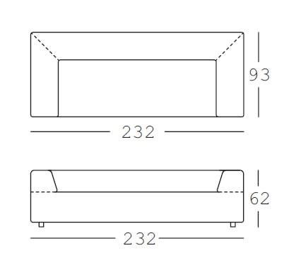 Sofa freistil 184 kvadrat