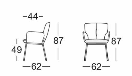 rolf-benz-655-stuhl-abmessungen