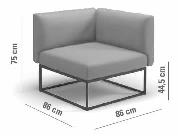 gloster-maya-lounge-eckelement-abmessungen