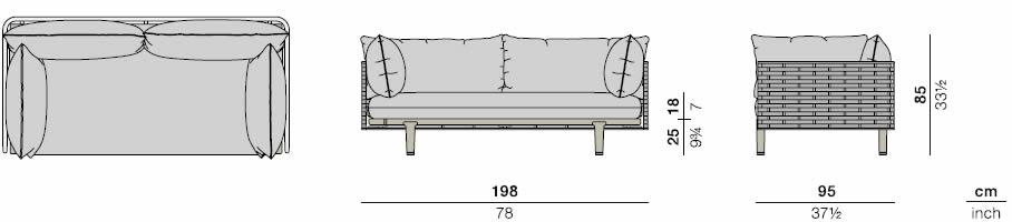 dedon-sealine-2er-sofa-abmessungen