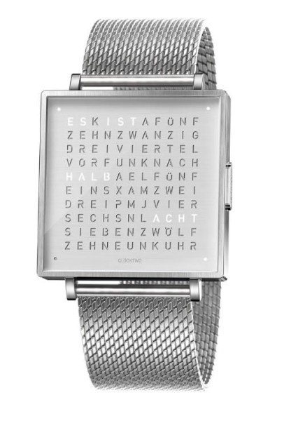 "Armbanduhr ""Fine Steel"" Milanaise Armband"