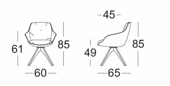 rolf-benz-600-stuhl-abmessungen