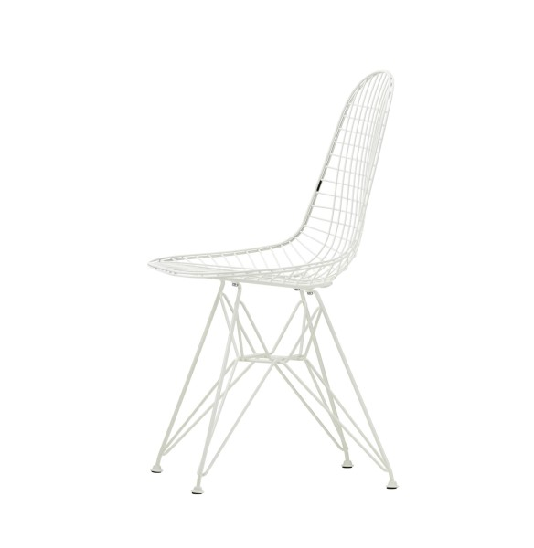 Wire Chair DKR White Collection