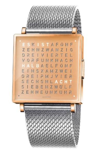"""Armbanduhr """"COPPER"""" Milanaise Armband"""