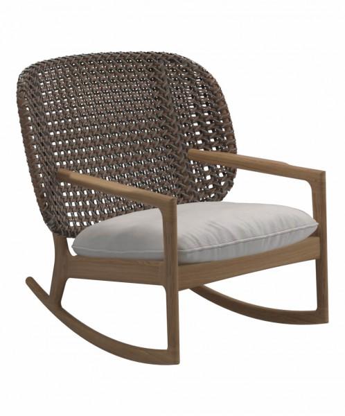 Kay Schaukelstuhl Lowback Rocking Chair