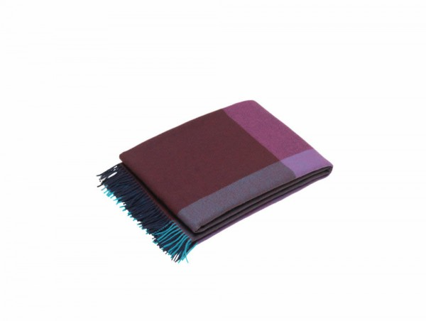 Colour Block Blanket Wohndecke