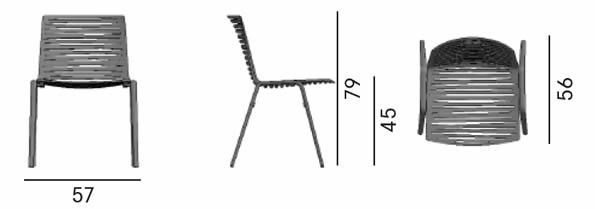 fast-outdoor-lifestyle-zebra-chair-abmessungen