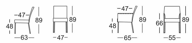 rolf-benz-stuhl-652-abmessungen