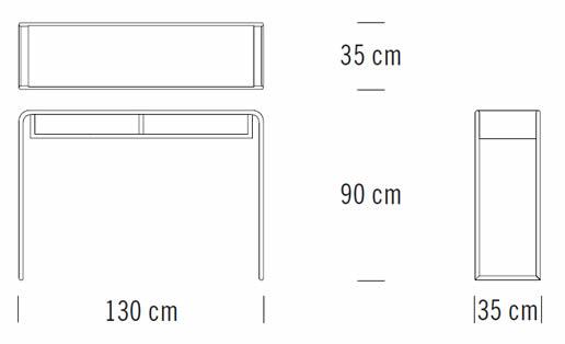 thonet-b-108-konsoltisch-abmessungen