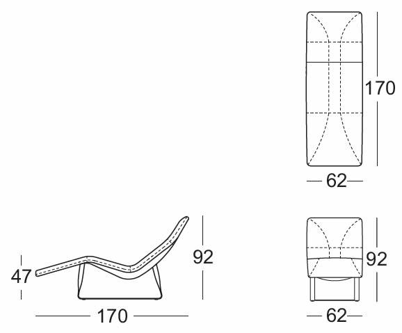 rolf-benz-liege-360-abmessungen