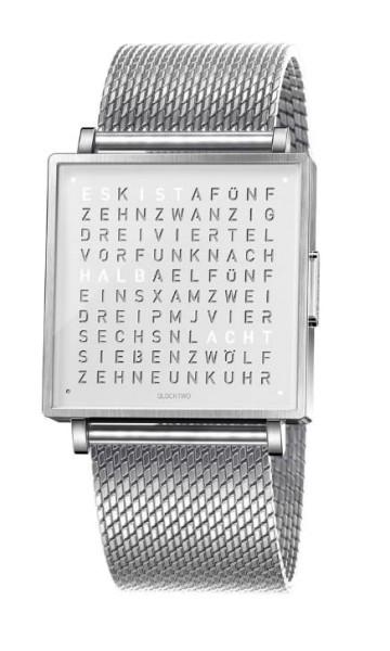 "Armbanduhr ""WHITE COLLECTION"" Milanaise Armband"