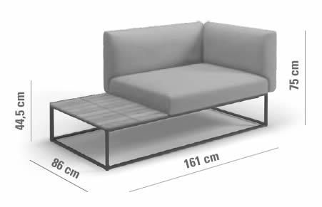 gloster-maya-lounge-end-unit-table-abmessungen