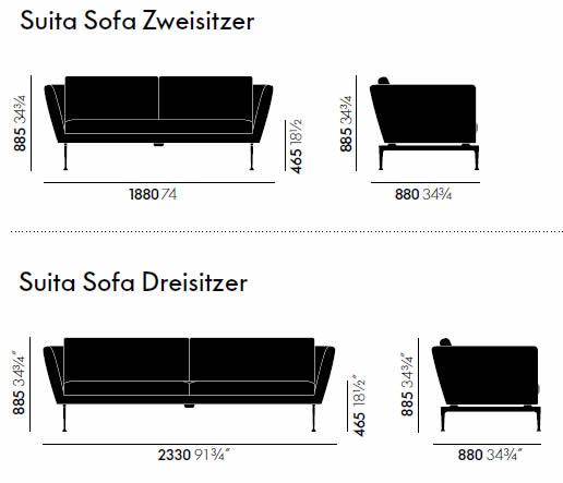 vitra-suita-sofa-abmessungen