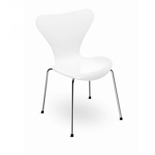 Serie 7 Stuhl Lack weiß