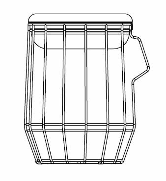 weltevree-carrier-korb-aufbewahrung-skizze