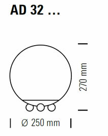 tecnolumen-art-deco-tischleuchte-abmessungen