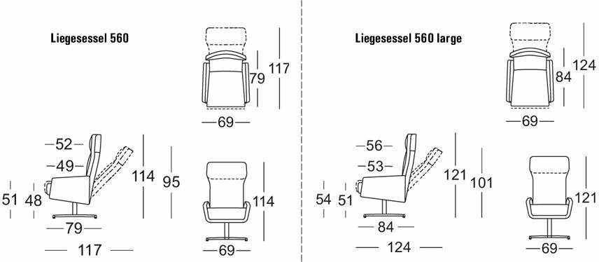 rolf-benz-sessel-560-abmessungen