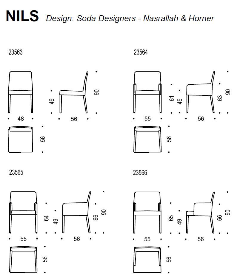 wittmann-stuhl-nils-abmessungen