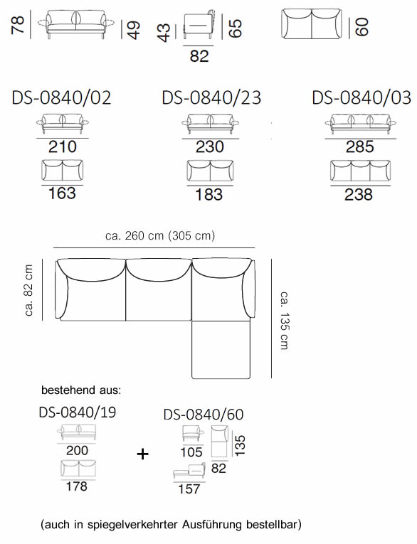 de-sede-ds-840-sofa-abmessungen