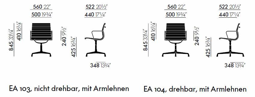 vitra-ea-103-104-aluminium-chair-abmessungen