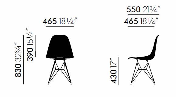 vitrea-dsr-eames-plastic-chair-abmessungen