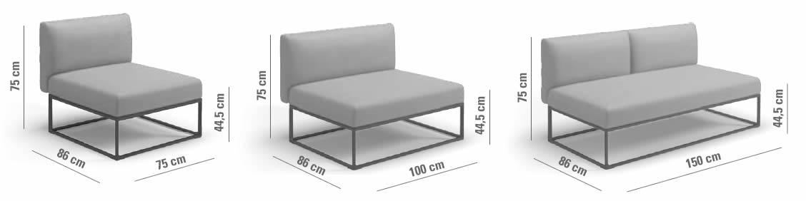 gloster-maya-lounge-center-unit-abmessungen