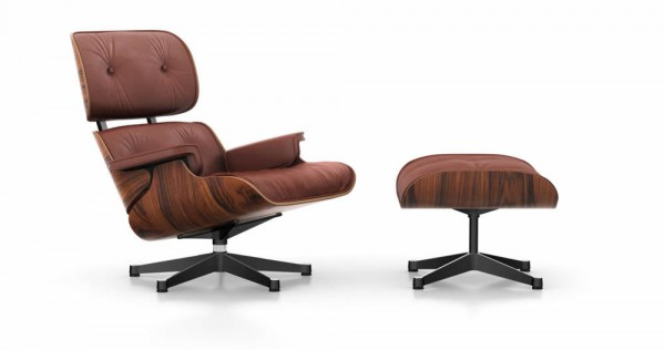 Lounge Chair & Ottoman groß Beauty Version