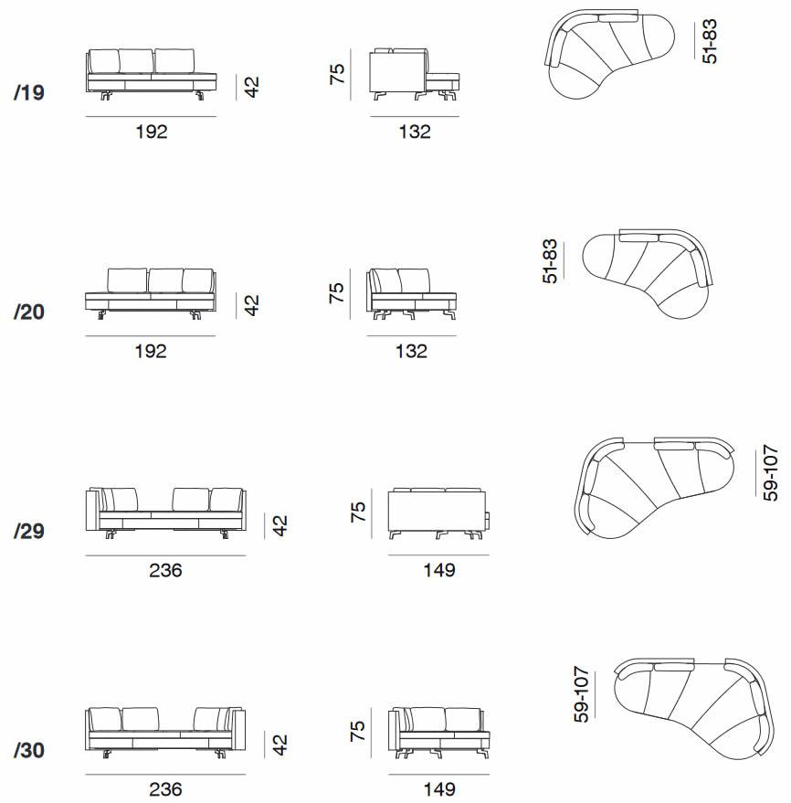 desede-sofa-ds-167-abmessungen