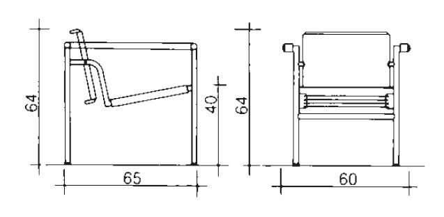 cassina-lc1-sessel-abmessungen
