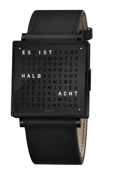 """Armbanduhr """"Black Steel"""""""