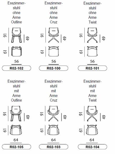 leolux-mime-stuhl-abmessungen