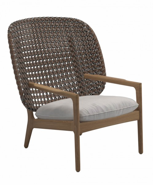 Kay Sessel Highback Lounge Chair