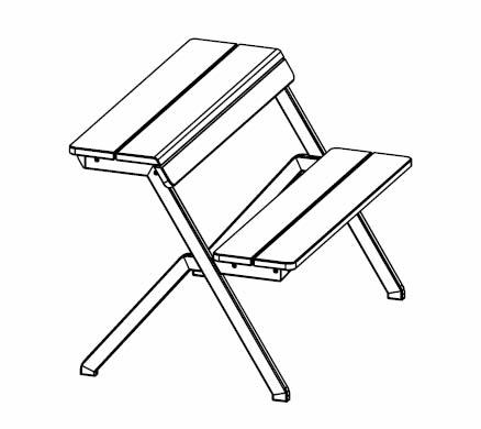 weltevree-tablebench-picknicktisch-skizze