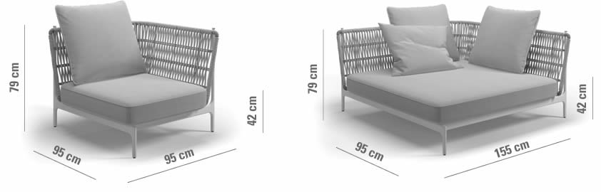 gloster-grand-weave-corner-unit-abmessungen