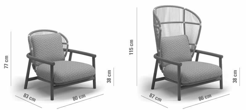 gloster-fern-lounge-chair-abmessungen