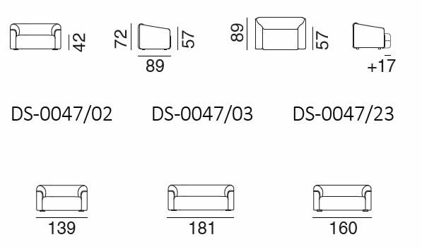 desede-ds-47-sofa-abmessungen