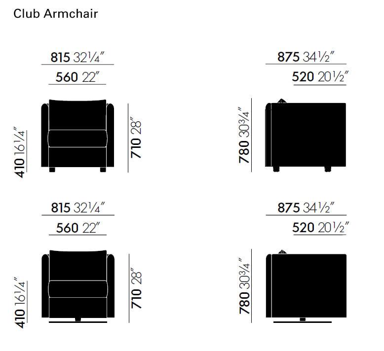 vitra-mariposa-club-armchair-abmessungen