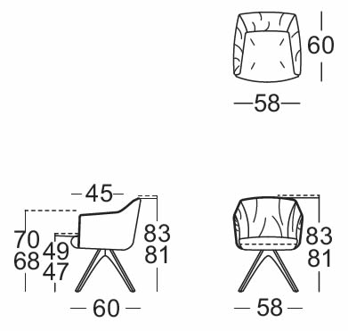 rolf-benz-stuhl-641-abmessungen