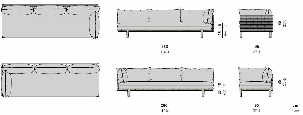 dedon-sealine-sofa-modul-xl-abmessungen