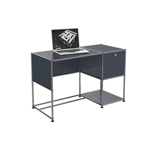 Schreibtisch B21 mit Klapptür