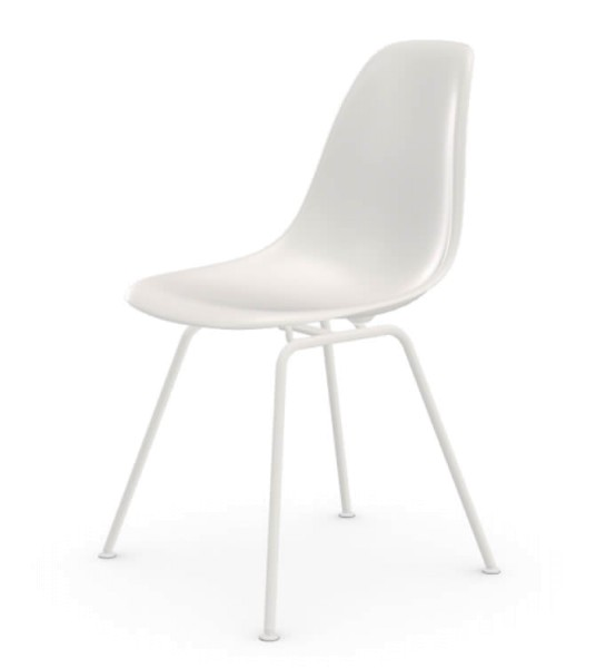 Eames Plastic Side Chair DSX White Collection