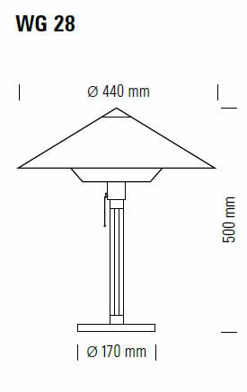 tecnolumen-wg28-abmessungen