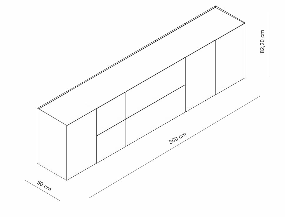 interluebke-just-cube-light-sideboard-kombination-abmessungen