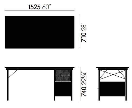 vitra-eames-desk-schreibtisch-abmessungen