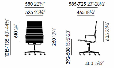 vitra-aluminium-chair-ea-119-abmessungen
