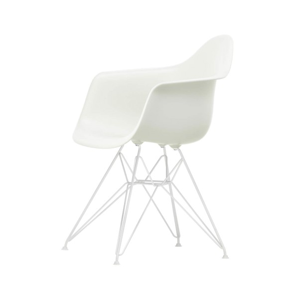 Eames Plastic Armchair DAR White Collection