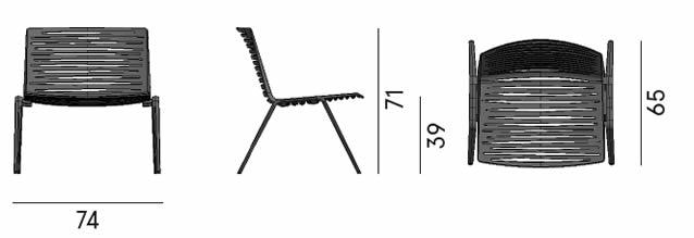 fast-outdoor-lifestyle-zebra-lounge-chair-abmessungen